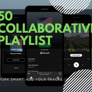 50 Spotify Collaborative Playlist + Bonus