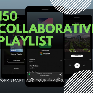 150 Collaborative Spotify Playlists + Bonus